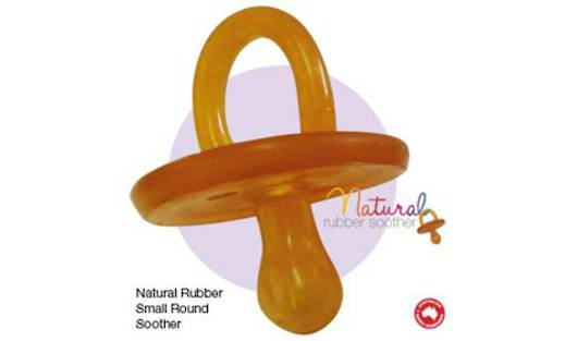 Natural Dummy Round Small 0-3 Months