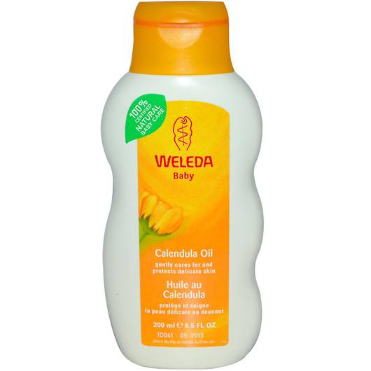 Calendula Baby Oil - Fragrance Free, 200ml